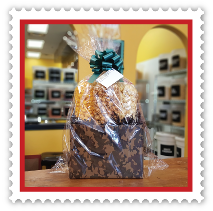 camo gift basket father's day